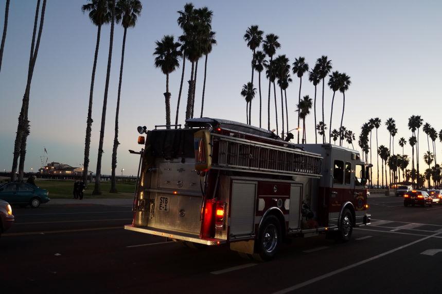 Scrapbook firefighters Santa Barbara Kristian Laban