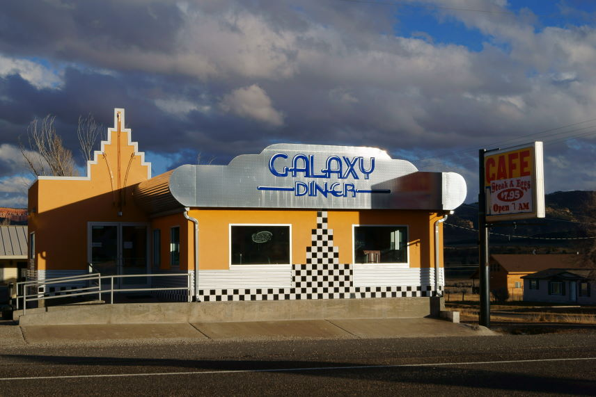 Scrapbook Galaxy Diner Utha Kristian Laban