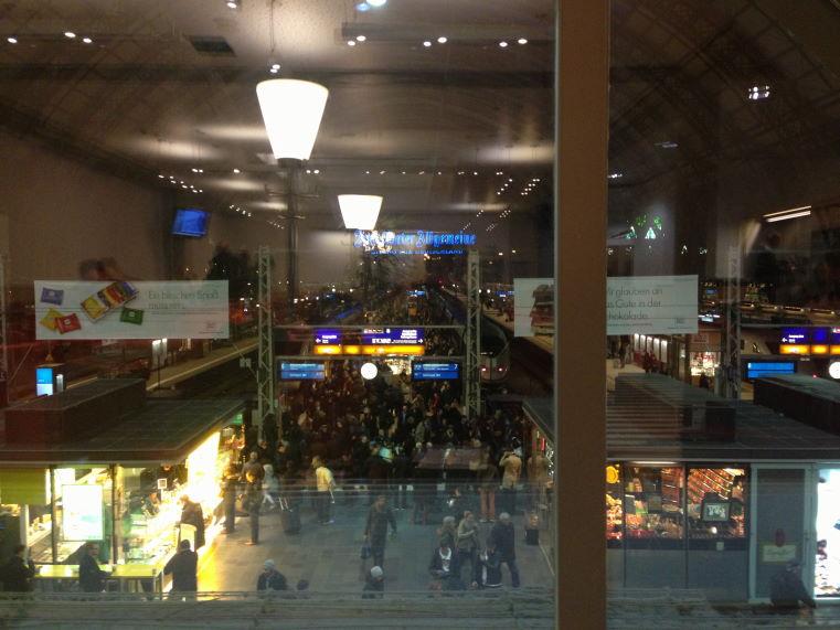 Frankfurt Train Station Scrapbook Kristian Laban