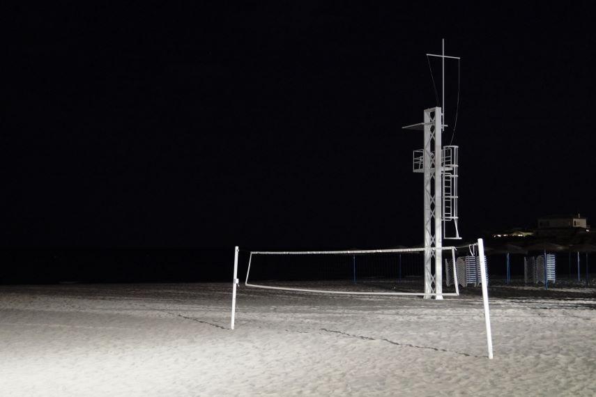 Jávea Xàbia Playa at night Photo by Kristian Laban