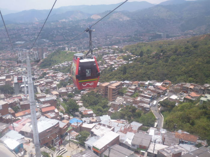Colombia Medellín Metrocable