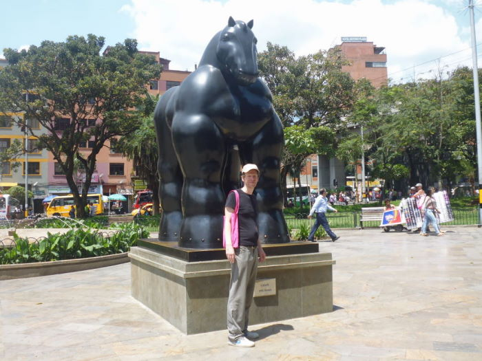 Colombia Medellín Plaza de Esculturas Plaza Botero Esculturas
