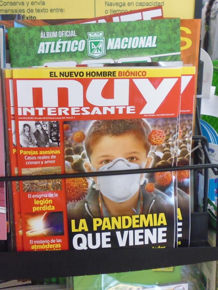 Colombia Revista Muy Bien Cover