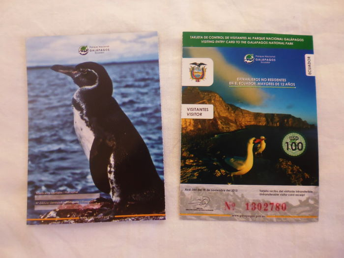 Galápagos Entrance Tickets