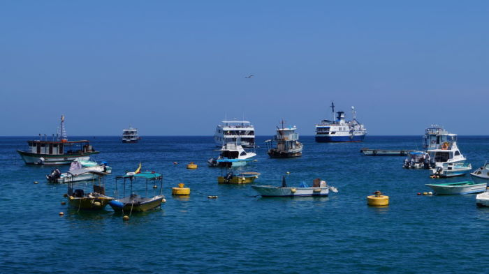 Galápagos Crucero Puerto Baquerizo Moreno Harbour