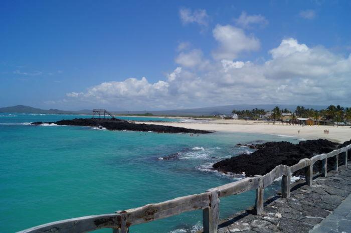 Galápagos Isla Isabela Puerto Villamil Beach
