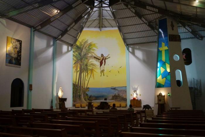 Galápagos Isla Isabela Puerto Villamil La Iglesia Jesus