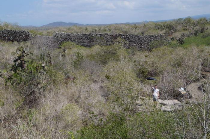 Galápagos Isla Isabela Muro de las Lágrimas