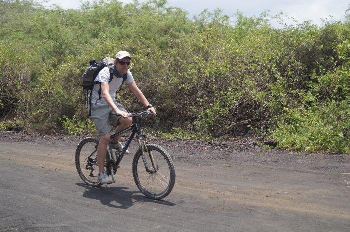 Galápagos Isla Isabela Biketour