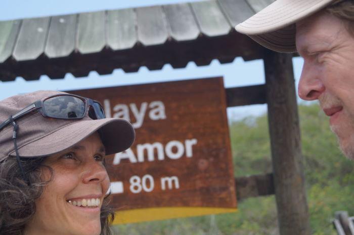 Galápagos Isla Isabela Playa de Amor