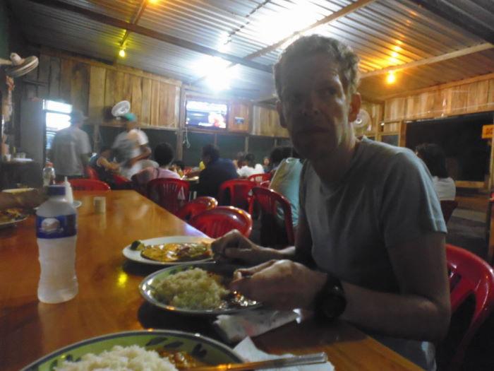 Isla Isabela, Puerto Villamil, local restaurant