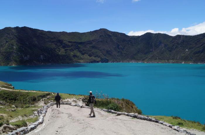 Quilotoa Krater Ecuador