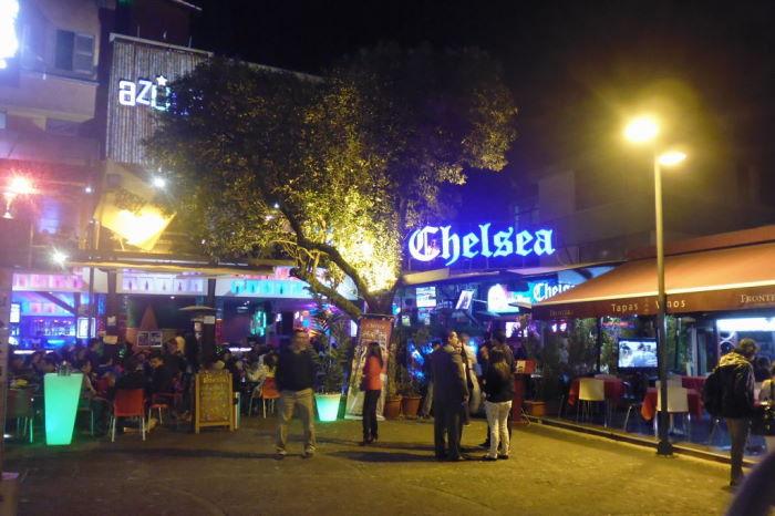 Quito La Mariscal Chelsea Bar