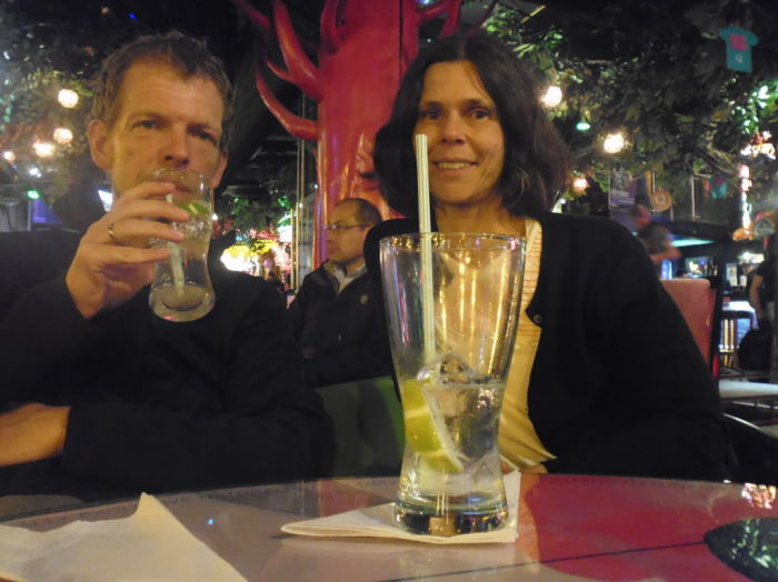 Quito La Mariscal Plaza Foch Heavy Drinking