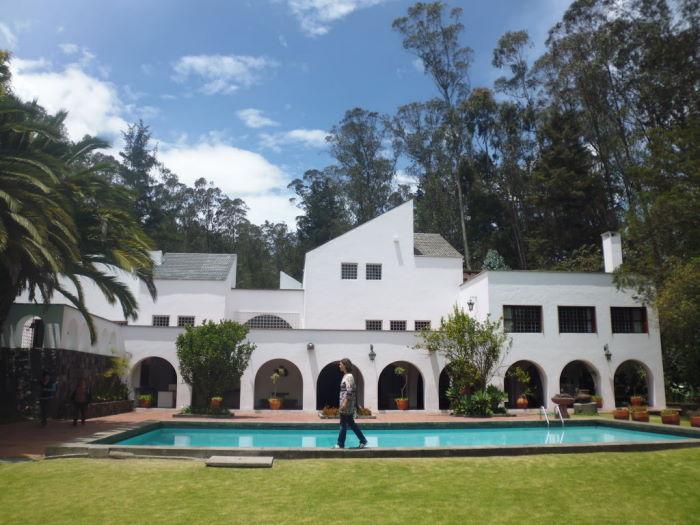 Casa Museo Oswaldo Guayasamín Jardin