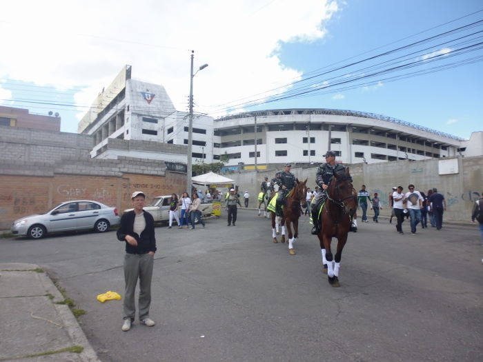 Estadio Casa Blanca LDU Quito vs. EMELEC