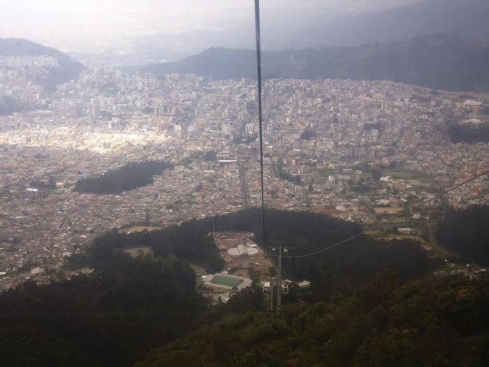 Ecuador Quito teleférico
