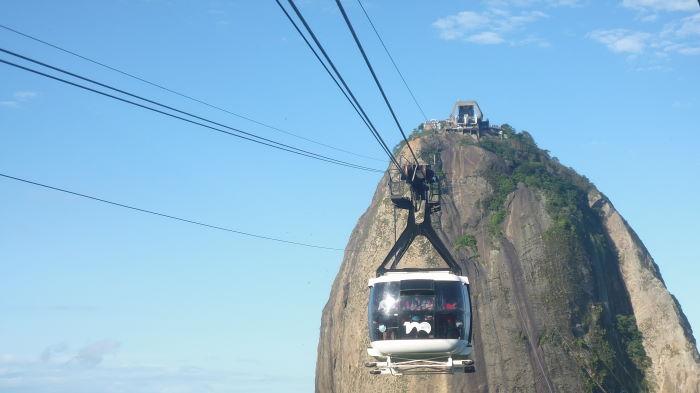 Rio de Janeiro, Zuckerhut Cable Car
