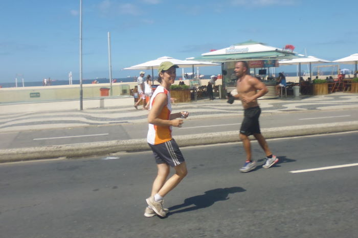 Rio de janeiro Running Copacabana