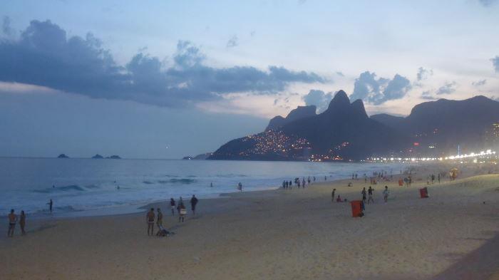 Rio de Janeiro Strandleben Ipanema