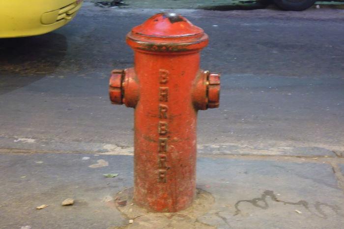 Rio de Janeiro, Hydrant, Barbara