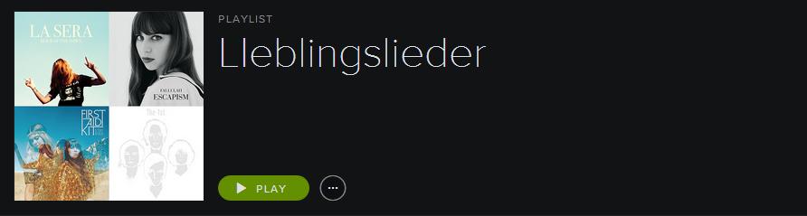 Spotify Lieblingslieder Juni 2014