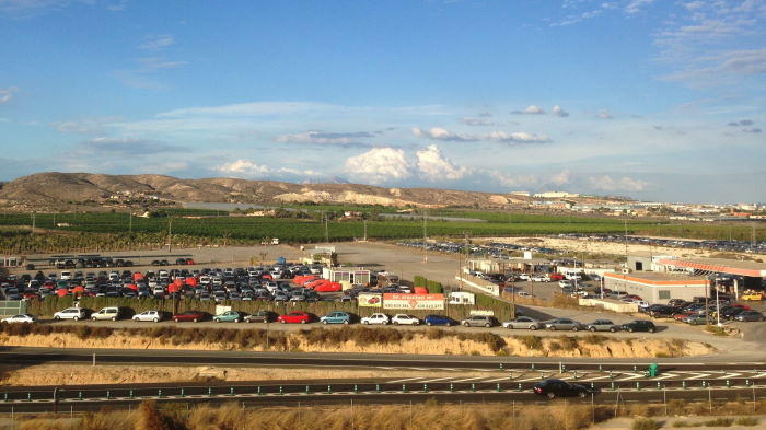 Alicante-Elche Airport Remote parking Boring Places