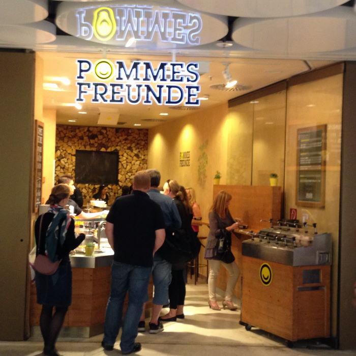 München Pommesfreunde Stachus