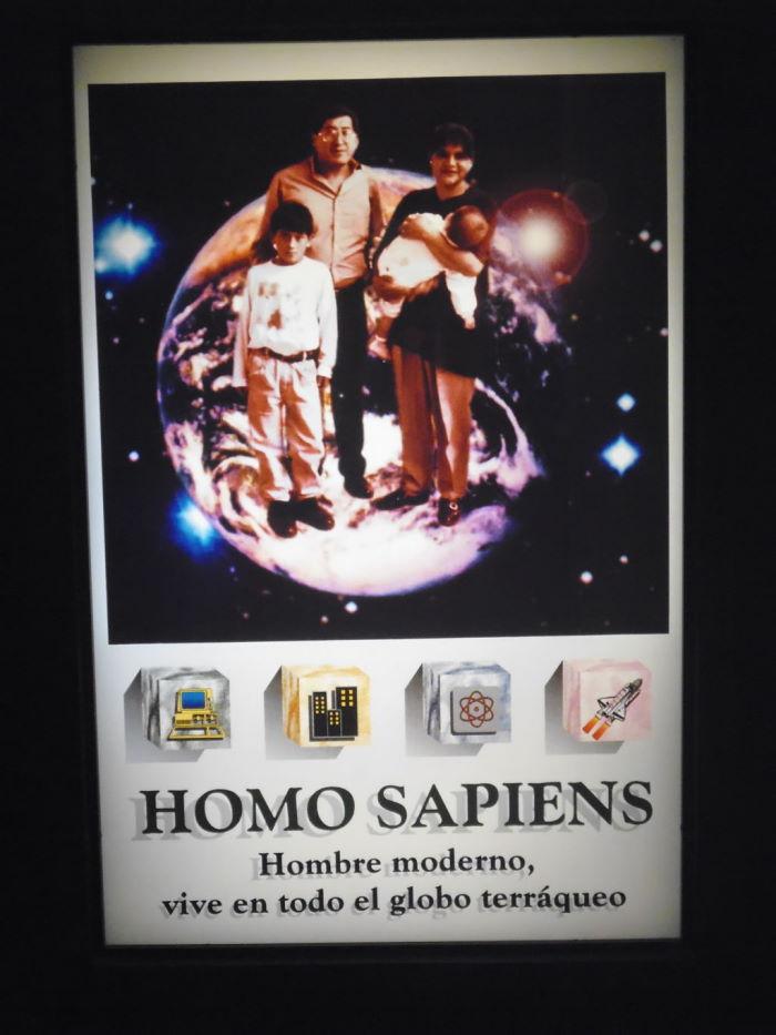 Quito Homo Sapiens Poster Hombre Moderno