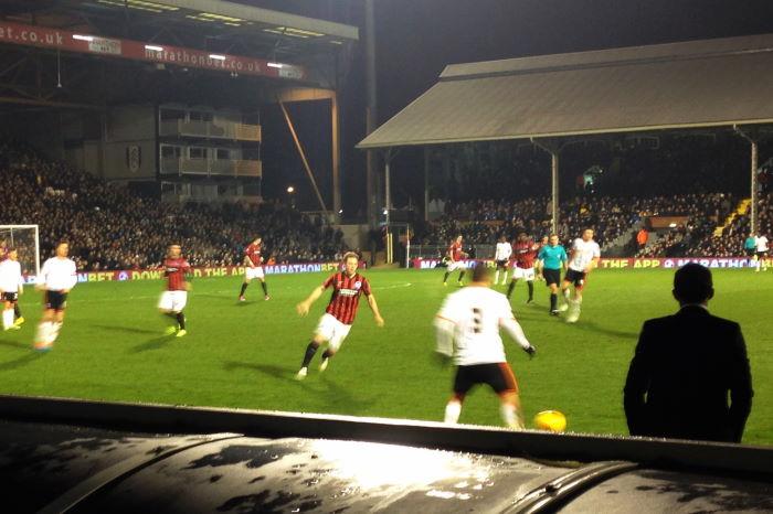 Fulham FC vs Brighton Hove Albion Nathan Jones