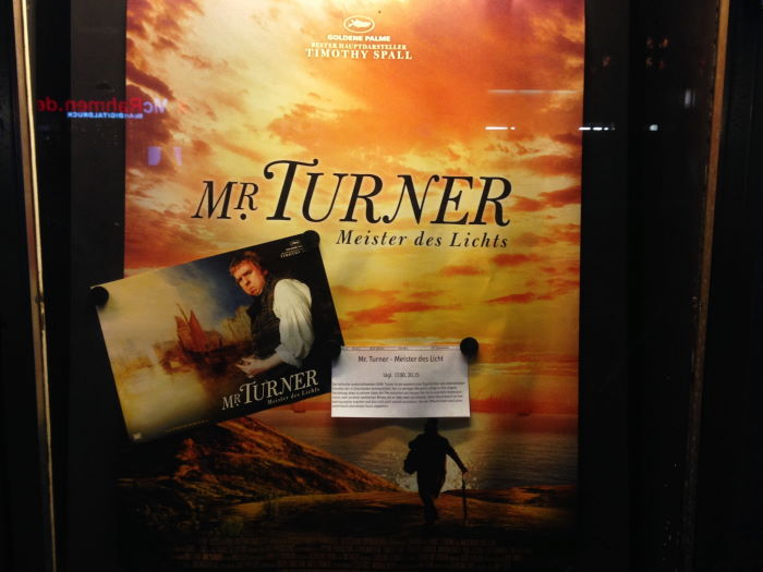 Film Mr. Turner Filmplakat Kino Berlin