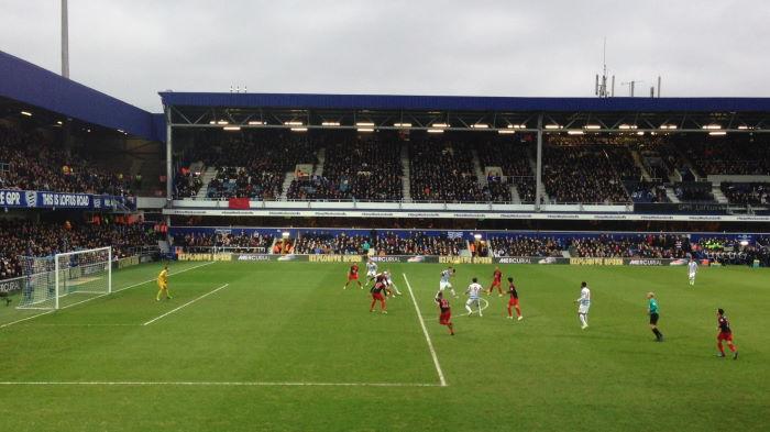 London, Loftus Road: Queens Park Rangers vs. Swansea City 1:1