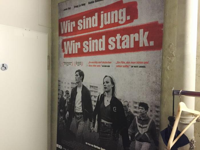 Kino Monopol München Wir sind jung. Wir sind stark. Plakat