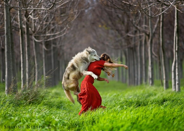 hlomi Nissim Little Red Riding Hood