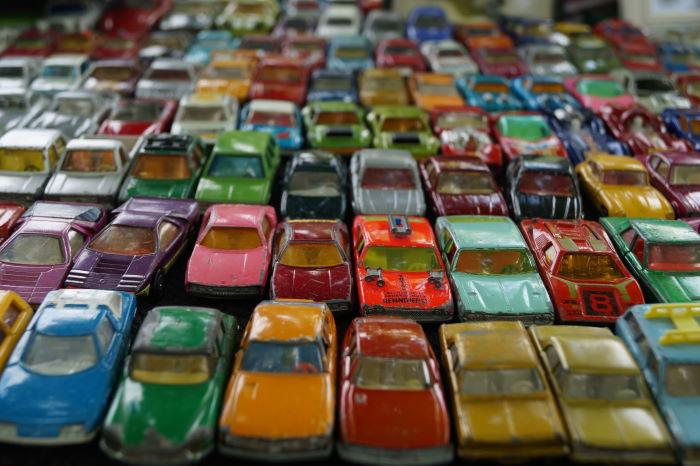 Big Matchbox Vintage Car Collection