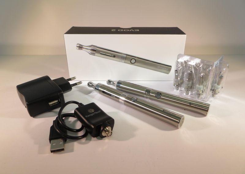 E-Zigarette Produktpräsentation