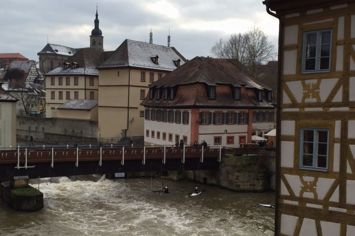 Bamberg Altstadt Regnitz