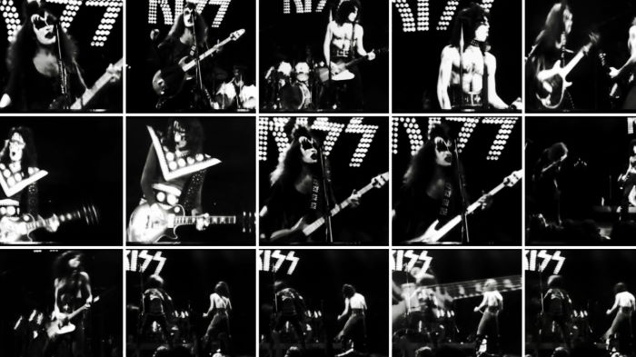 Picture Portfolio Kiss Live At Winterland San Francisco 1/31/1975 Concert