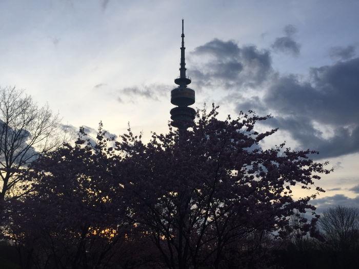 Munich Olympic P arc Sakura Tower