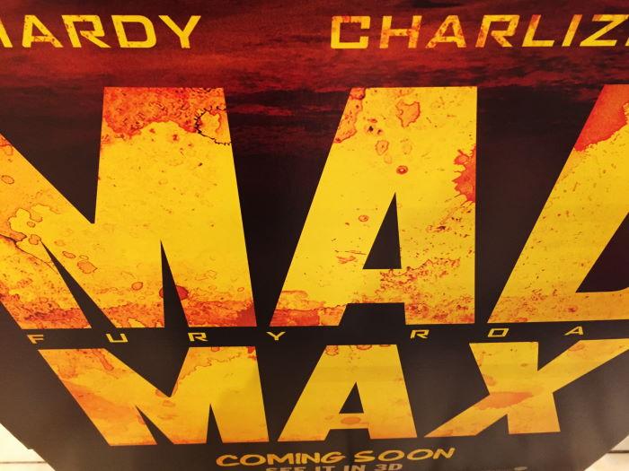 Mad Max Ausschnitt Filmplakat