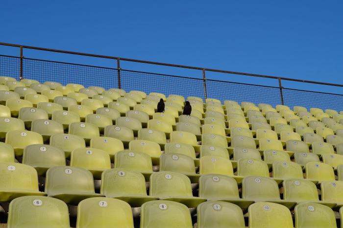 Munich Olympic Stadium Green Chairs