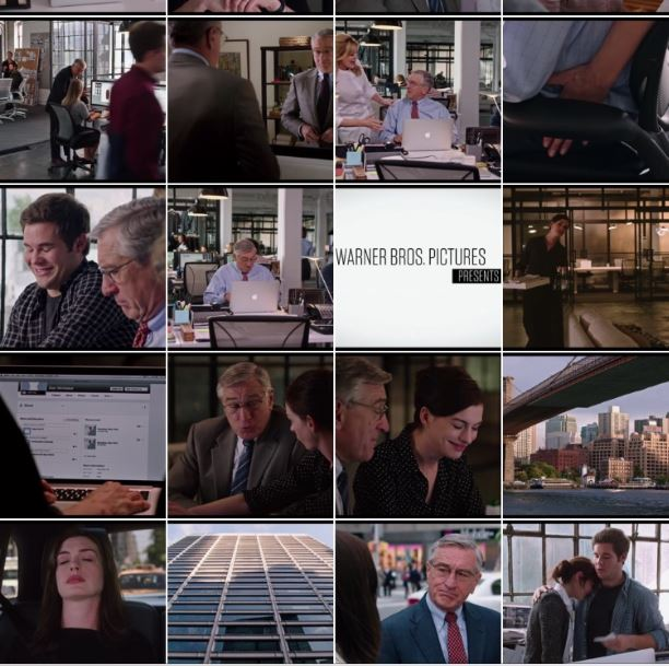 Movie The Intern picture panorama