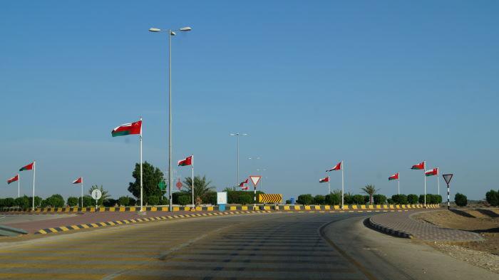 Entering Oman
