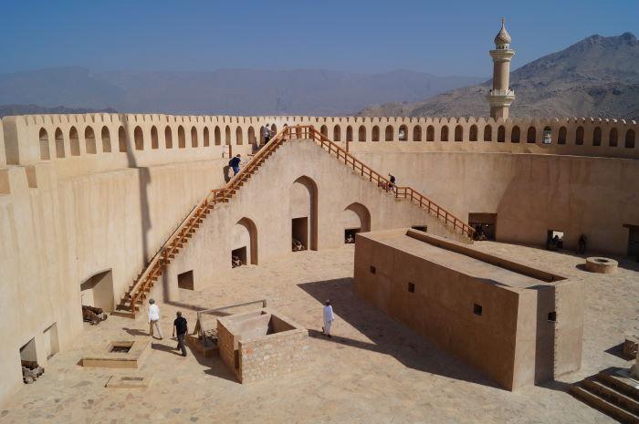 Oman, Nizwa, Fort