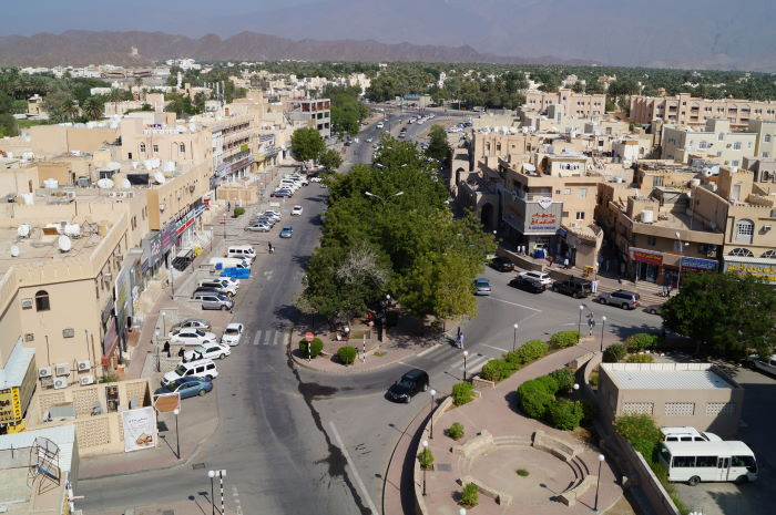Oman, Nizwa, Downtown