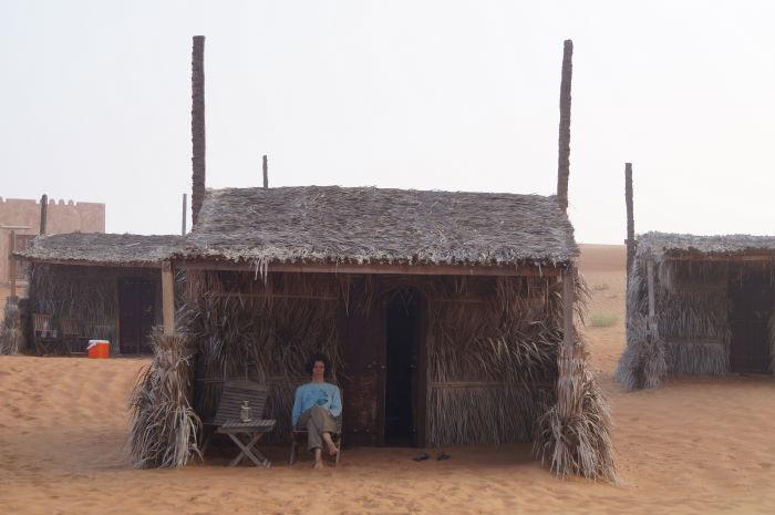 Oman, Nomadic Desert Camp Hütte