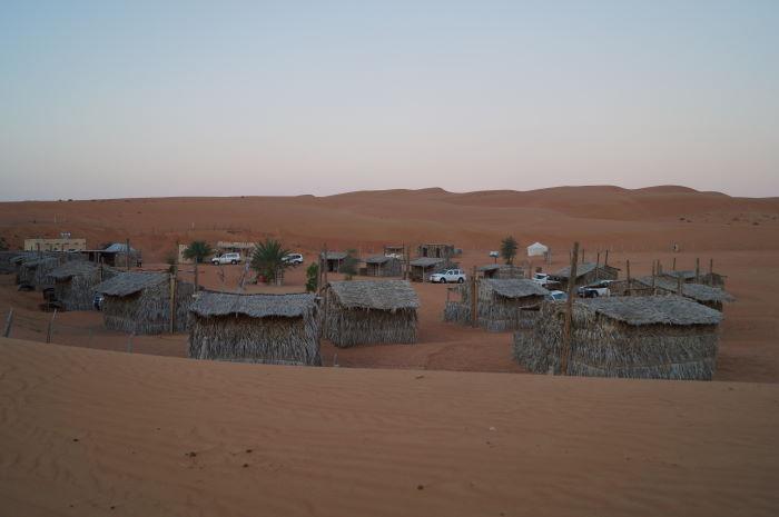Oman, Nomadic Desert Camp Hütten