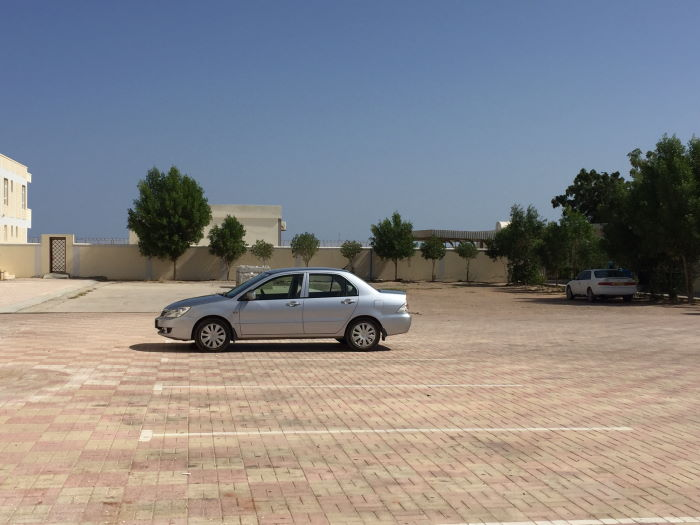 RResort Ras Al Hadd Holiday Hotel Parking place