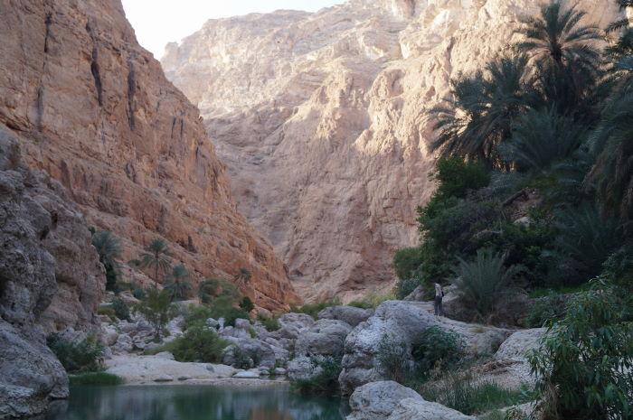 Oman Wadi Al Shab
