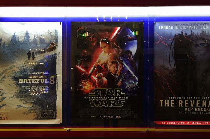 Münchner Freiheit Kinoplakat Star Wars VII